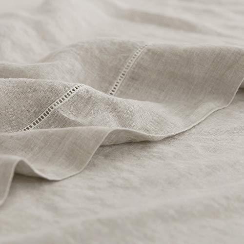 Simple&Opulence 100% Washed Linen Sheet Set