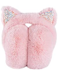 Women's Winter Warm Cat Ear Earwarmer Knitted Earmuffs