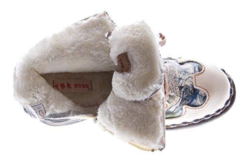 Creme Pour Femme Tma Bottes Weiß Blanc X7xvwq