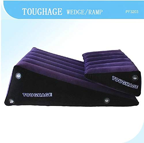 TOUGHAGE PF3203 Comfortable and Practical ramp Combination Inflatable Pillow, PVC Rubber