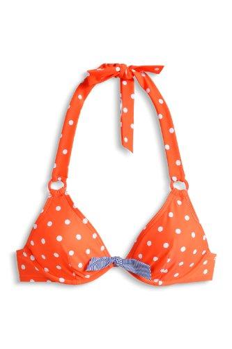 ESPRIT Bondi Beach - Parte de arriba de bikini para mujer Naranja (826)