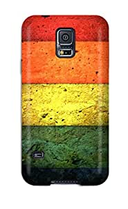 Five Wall Color Case Compatible With Galaxy S5/ Hot Protection Case 4602107K81230340
