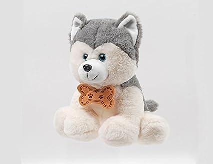Linzy Toys 10 Max Sitting Husky Pup Animal Plush Nixeus Technologies Inc us beauty L-43136
