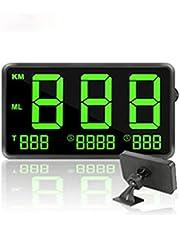 Car GPS Speedometer 4.5 Inch Screen Hud Head Up Display Universal Digital Dashboard Speed Projector for Motorcycle Boat
