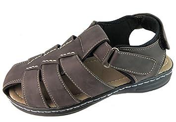 Fleet And Foster Mens Felixstowe Velcro Summer Sandals rti7ipa