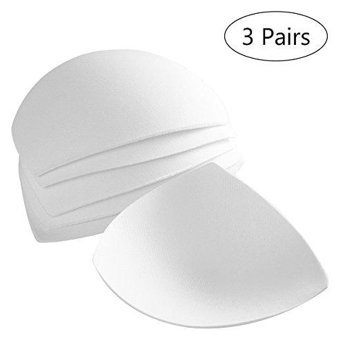 LUOEM Sujetador Inserta Almohadillas Removibles Tazas Inteligentes Sujetador Inserta Almohadillas para Mujeres Para el Traje...