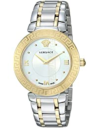 Women's 'DAPHNIS' Swiss Quartz Stainless Steel Casual Watch, Color:Two Tone (Model: V16060017)