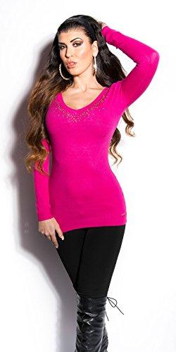 KouCla - Jerséi - para mujer rosa S