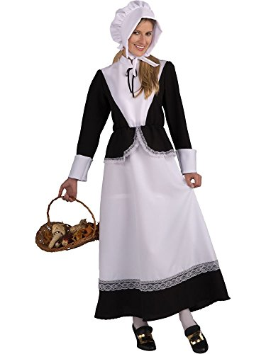 Forum Novelties Plymouth Pilgrim Woman Costume, Black, Standard -