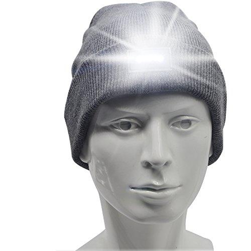 Ski Hat With Led Light - 9