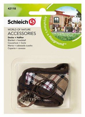 Schleich 42118 Blanket & Headstall Set