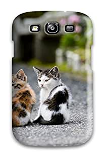 Fashionable Style Case Cover Skin For Galaxy S3- Cats Hd