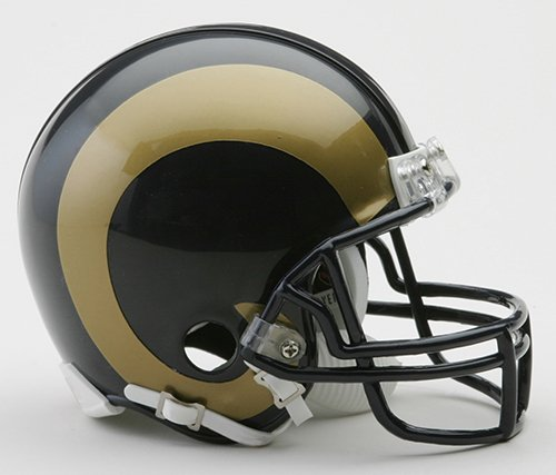 Los Angeles Rams Riddell Mini Football Helmet New in Riddell Box