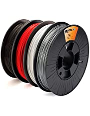 BASICFIL PLA, verschillende kleuren, 1,75 mm, 500 g, 3D-printerfilament voor FDM/FFF