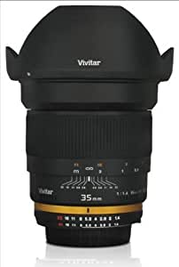 Vivitar 35mm f/1.4 Ultra Fast Wide Angle Lens For Nikon Digital Cameras [Camera]