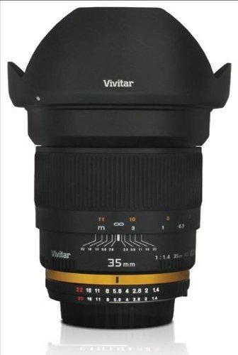 Vivitar 35 mm f / 1.4 Ultra Fast Wide Angle Lens for Nikonデジタルカメラ[ Camera ]   B005LQ775E