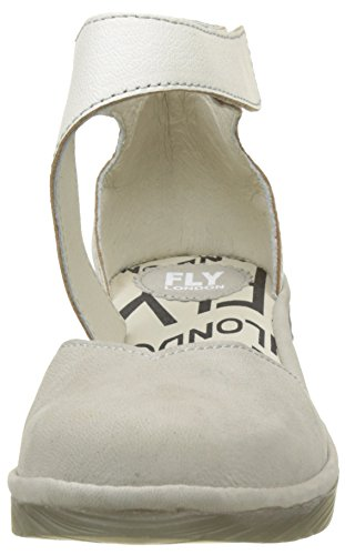 Fly London Pats - Cloud / Off White Cupido / Mousse (in Pelle) Donna Sandali Beige