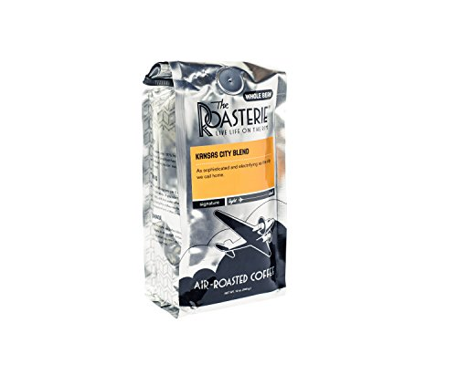 The Roasterie Air Roasted Coffee - Whole Bean Selections - 12 ounce (Kansas City Blend)