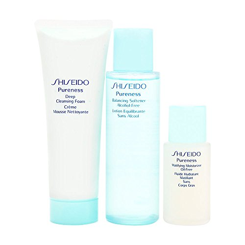 Shiseido Pureness 3 Piece Kit for Women