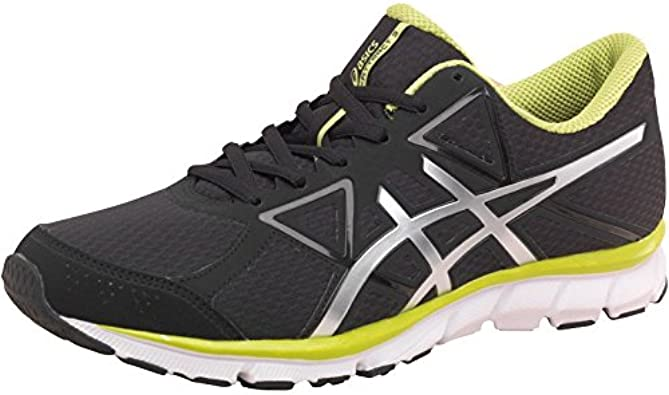 Prematuro ángulo adjetivo  Mens Asics Mens Gel Attract 3 Lightweight Natural Running Shoes Black/Silv:  Amazon.co.uk: Shoes & Bags