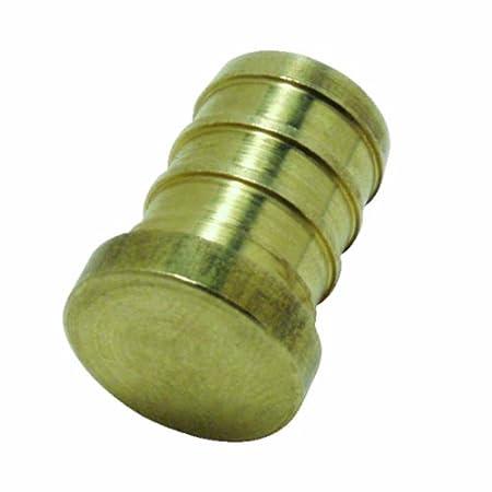 10-Pack Watts LFWP24B-12PB 3//4-Inch Barb Lead Free Brass PEX Test Plug