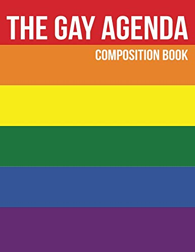 The Gay Agenda Composition Book: Year Planner
