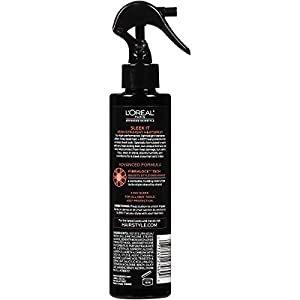 L'Oreal Paris Hairstyle Sleek It Iron Straight Heat Spray 450 Degree Protection, 170Ml