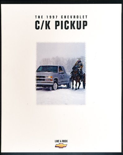 1997 Chevrolet Chevy C/k Pickup Silverado Sales Brochure Catalog Book Truck (Silverado Sales Brochure)