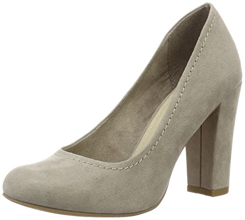 Marco Tozzi 22425 - Zapatos de Tacón Mujer Beige (Taupe 341)