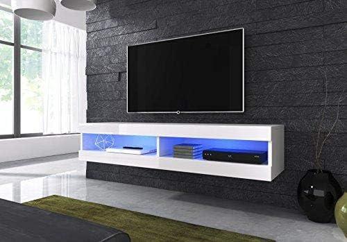 E-com - Mueble TV Salon Moderno Mesa Television Volant - 150 cm ...
