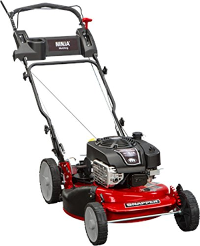 (Snapper RP2185020 / 7800981 NINJA 190cc 3-N-1 Rear Wheel Drive Variable Speed Self-Propelled Lawn Mower with 21-Inch Deck and ReadyStart System, Ninja Mulching Blade and 7 Position Heigh-of-Cut)
