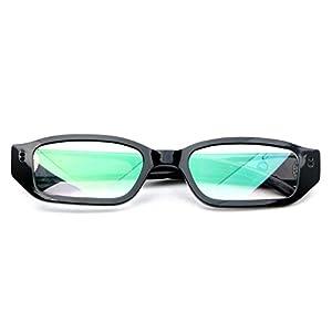 SODIAL(R) 1080P HD Digital Video Camera Glasses Audio Recording DVR Eyewear Camcorder