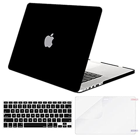 Mosiso Plastic Hard Case with Keyboard Cover with Screen Protector Only for MacBook Pro 13 Inch with Retina Display No CD-Rom (A1502/A1425, Version 2015/2014/2013/end 2012), - Cases and Covers