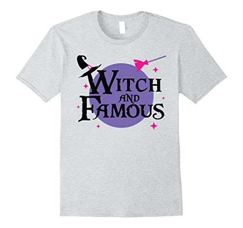Spirit Halloween Costumes Men (Mens Witch and Famous Spirit Halloween Costumes T-Shirts XL Heather Grey)