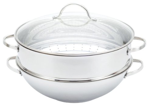 Josef Strauss 18/10 Stainless Steel 3 piece Steamer Set