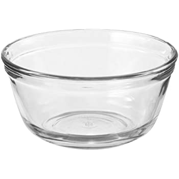 Anchor Hocking Glass Food Prep and Mixing Bowls, 4 Quart (Set of 2)