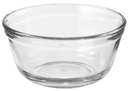 Anchor Hocking Glass Food Prep and Mixing Bowls, 4 Quart (Set of (Kitchen Glass Mixing Bowl)