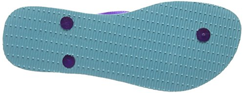 Havaianas Slim Logo, Chanclas para mujer Azul 0642