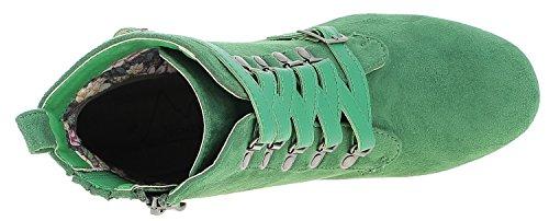 Hjorte Kogel Damer 3611506 Kort Skaft Støvler Græs Grøn VbxI4Q