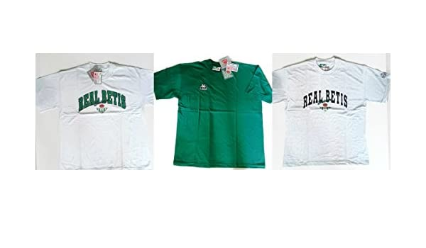 Pack 3 camisetas Betis Kappa Vintage Original Coleccionistas T.XL ...