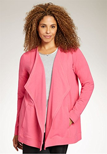Bargain Catalog Outlet Woman Within Plus Size Long Sleeve Bed Jacket