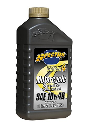 Spectro Performance Oils L.SG414-6pk Golden 4 Semi-Synthetic 10w40,1 L,6 Pack