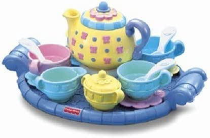 B00005ATWC Fisher-Price Musical Tea Set 41o-y6VFkwL