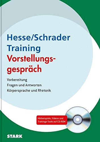 Hesse/Schrader: Training Vorstellungsgespräch