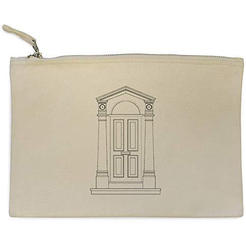 Accesorios Azeeda Embrague Case De 'puerta Bolso Blanca' cl00002685 fXxRFXz