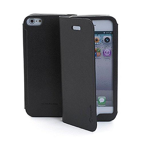 Muvit Wallet Case für iPhone 5/5S/5SE, schwarz