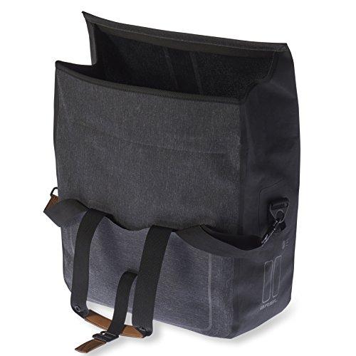 Basil Unisex Urban Dry Business Bag, Black, 20 Litre by Basil (Image #2)