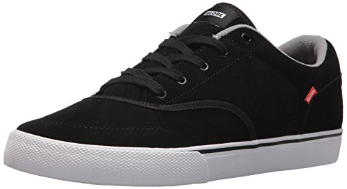 Globe Men's Tribe Skate Shoe, Black/Toffee, 13 M US