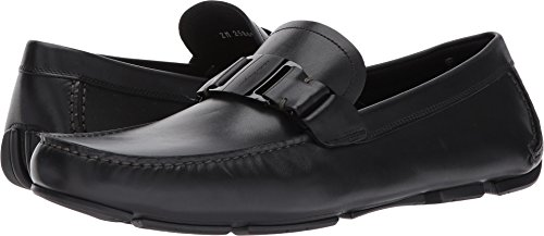 Salvatore Ferragamo  Men's Sardegna Driver Black 45 (US Mens 11) EE - Wide