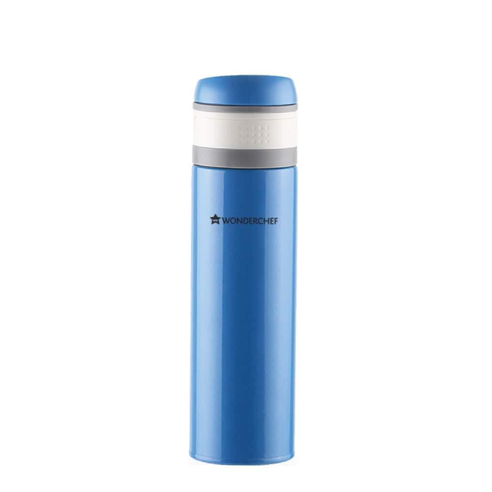 Wonderchef Uni-Bot Stainless Steel Flask, 500 ml (Blue)